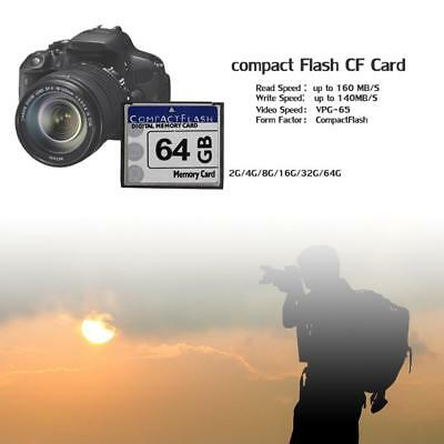 For SLR Digital Camera 2GB 4GB 8GB 16GB 32GB 64GB Compact Flash CF Memory Card