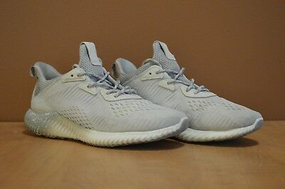5b552c882 Adidas Alpha Bounce X Reigning Champ Men s Shoes Size 9.5 White - Preowned