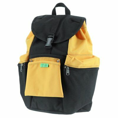 PORTER Yoshida UNION Backpack Ruck Day Pack 782-08692 Black Yellow Made in  Japan 4253e4ba72fd4
