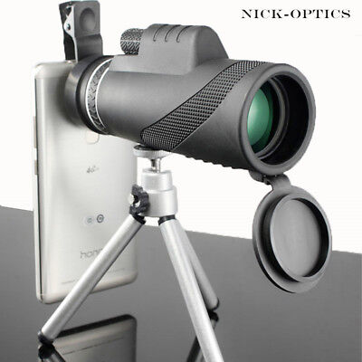 Monocular 40x60 Powerful Binoculars High Quality Zoom Telescope Night Vision