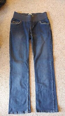 Old Navy Maternity Jeans Size Small S Boot Cut Medium Wash STRETCH (long)