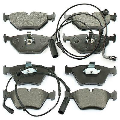 BMW 5 5er E39 Soda + Touring Brake Pads Discs + Warning Contact Front Rear