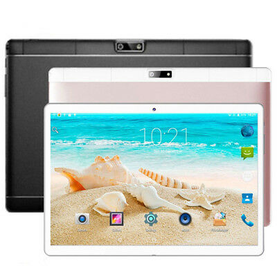"""10.1"""" WIFI Android 7.0 Tablet PC 4GB+64GB Octa Core GPS Phone Wifi Phablet"""