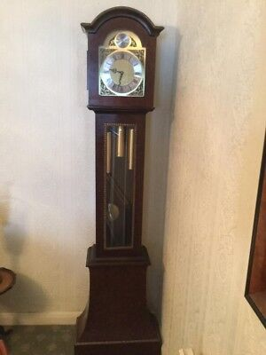 Grandfather clock Mahogony