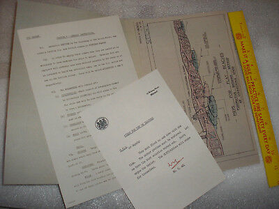 World War 1 Document-Handbook And Drawings-Mulberry Piers
