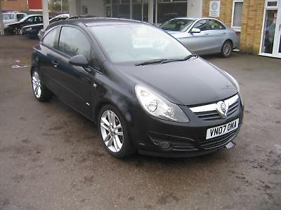2007 Vauxhall/Opel Corsa 1.4i 16v SXi, SPORTY LOOKING LITTLE CAR,LOW MILEAGE
