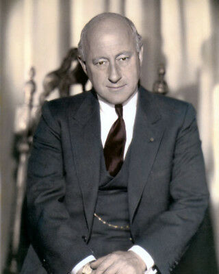 "CECIL B. DeMILLE ACADEMY AWARD WINNING DIRECTOR 8x10"" HAND COLOR TINTED PHOTO"