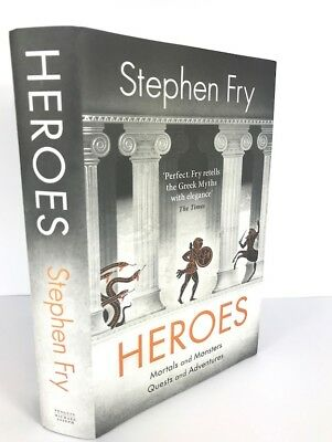 Rare! Heroes - SIGNED & LINED by Stephen Fry HB 1st/1st