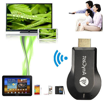 AnyCast M4 Plus Wrieless Wifi Display Dongle Receiver DLNA HD 1080P Tool BlacRDR