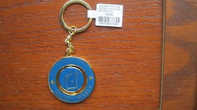 Cunard Line's Queen Mary 2 Key Ring, Brand New With Price Tag
