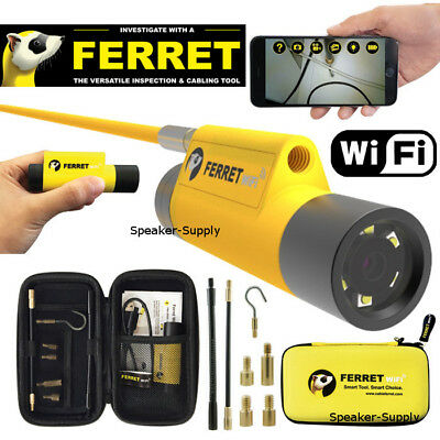 Cable Ferret 720p WiFi Glow Rod Inspection Camera Tool Wall Fish Wire 99300