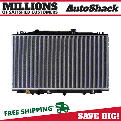 New Complete Cooling Aluminum Radiator Assembly fits 2005-2007 Honda Accord 2.4L
