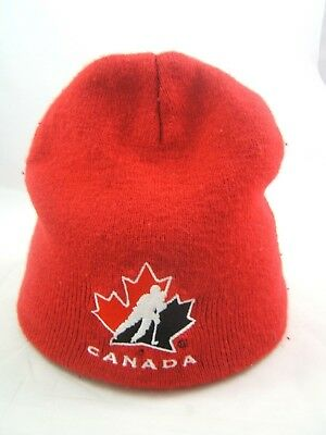 Molson Hockey Canada 2010 Olympic Winter Hat Red Toque Beanie Stocking Cap