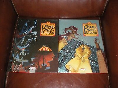 Ring Circus - Lot Des Tomes 1 Et 3 Editions Delcourt - Chauvel / Pedrosa