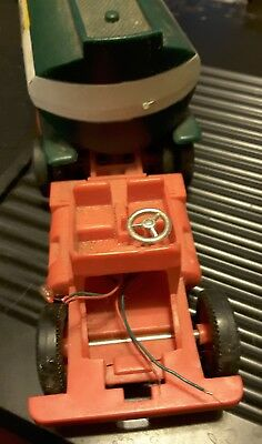 1972 HESS TRUCK 18-WHEELER TANKER TRAILER MARX TOY for parts or repair.
