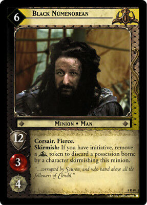 Black Captain Moderately Played Siege of Gondor Lord of LOTR: The Witch-king