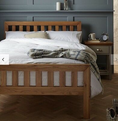 ab879cf66d39 A HOUSE BY John Lewis Bow Upholstered Headboard Bed Frame - New ...
