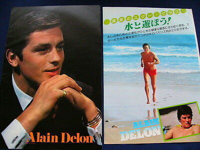 1970s- Alain Delon MADLY 119 Japan VINTAGE Clippings VERY RARE