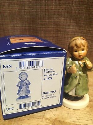 """Hummel Figurine """"Keeping Time"""" Excellent Condition"""