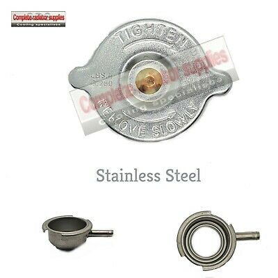 Stainless Steel Radiator Filler Neck and 15 lb Pressure Cap