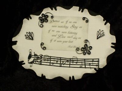 Musical Quilling Mounted
