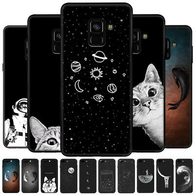 Space TPU Silicon Rubber Thin Case Cover For Samsung A9s/A6s/A9 2018/A7 2018 etc