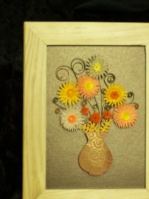 Framed Quilled Flowers