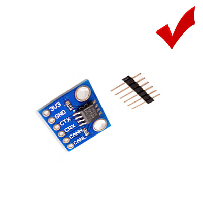 SN65HVD230 CAN BUS transceiver communication Arduino module w Low Current  Mode