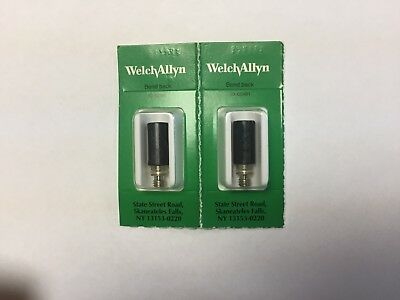 Two Welch Allyn 08800 4.6V Halogen Replacement Bulbs For Vaginal Spec. Light
