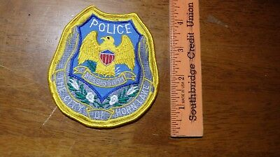 HORN LAKE MISSISSIPPI POLICE DEPARTMENT  PATCH   bx 2 #2
