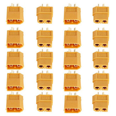 1~10Pair XT60 Male Female Bullet Connectors Plugs For RC Hobby Lipo Battery AB