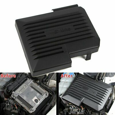 For 2017 2018 Audi A4 B9 8W A5 Car Engine Cover Protector Hood Black OE Style