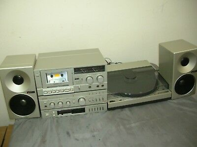 Technics Vintage Stereo & Sl-7 Turntable Excl All Little Used All Works Well*