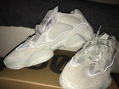620d04a5fb4 ADIDAS YEEZY 500 Salt UK 9.5 US 10 Brand New With Tags And Box Sold ...