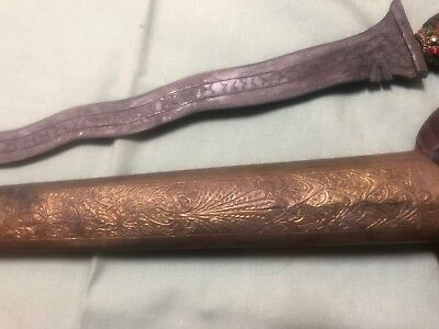 Antique Indonesian Dagger with Scabbard