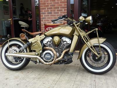 Indian Scout 1133 Springer Brand Nw Custom Build