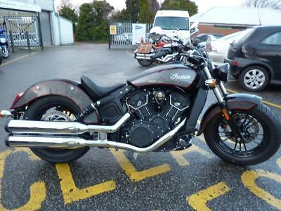 Indian Scout Sixty Abs Brand Nw Managers Special