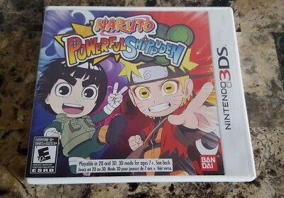 Naruto Powerful Shippuden for the Nintendo 3DS 2013