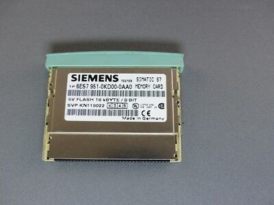 SIEMENS SIMATIC S7 Flash Memory - 16 KB 6ES7 951-0KD00-0AA0 E-Stand: 2 (5454-5)