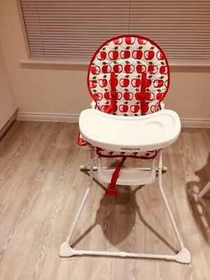 Mothercare Highchair. Apple Design. New Out Of The Box