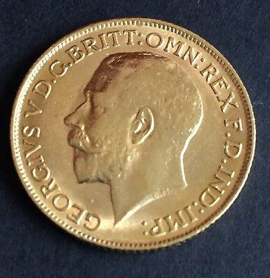 1911 Great Britain Full Sovereign  Gold coin Great Gift