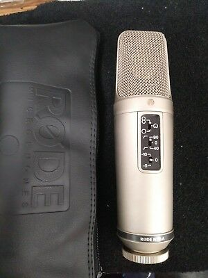 """Rode NT2-A Recording Microphone,Pro large capsule (1"""") condenser studio mic"""
