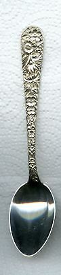 Repousse Teapoon 5-7/8 inch by S. Kirk and Son Sterling Silver