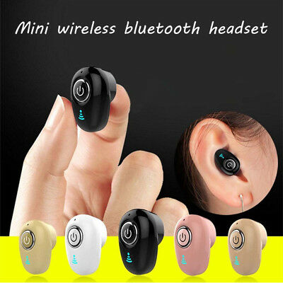 Invisible  Headset  In-Ear  Earphone  4.1  Bluetooth Mini  Wireless  Stereo