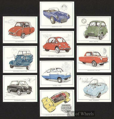 MICRO BUBBLE CARS Messerschmitt Zundapp BMW Trade Cards