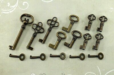 Vintage Style Open Barrel Skeleton Key Furniture Cabinet -Assorted ( 15 x)