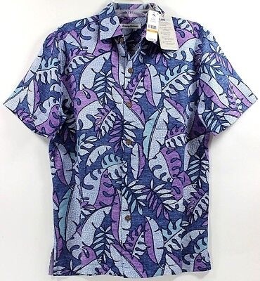 Tommy Bahama Fronds Bouquet-Abalone Island Zone Silk Blend Camp Shirt $135