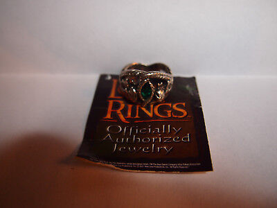 Ring of Barahir Lord of the Rings lotr silver sca larp cosplay Aragorn Strider
