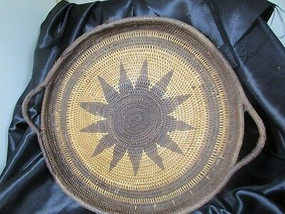 Vintage Papua New Guinea Buka Tray With Handles C.1970'S