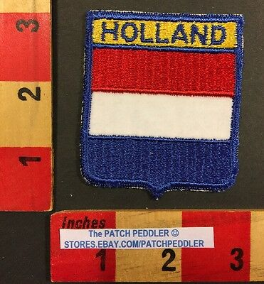 Vintage HOLLAND Flag Theme Patch 1984 Nabisco & Campbell Advertising  55S